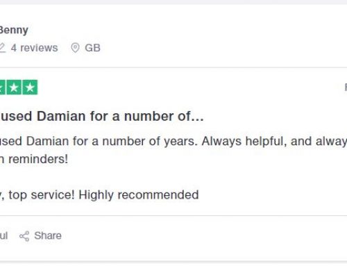 Client Review for Damian
